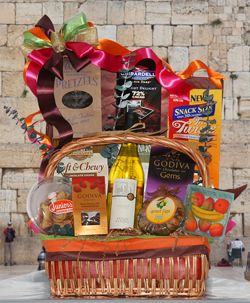 A happy and healthy gift baskets by the perfect gift new for Gifts for new yorkers