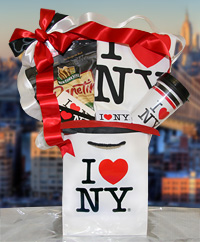 New York City Theme Gift Baskets and Souvenirs