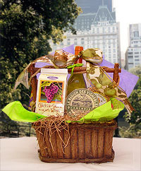 Wine & Cheese Gift Basket Delivery New York Hotels