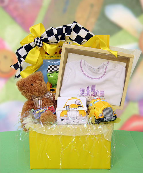 Baby Gift Baskets New York : New york city baby gift baskets by the perfect