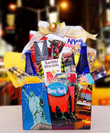 New york city theme gift baskets and souvenirs holiday taxi tote welcome to times square negle Choice Image