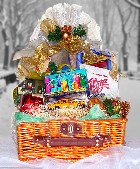 New york winter wonderland gift baskets by the perfect for Gifts for new yorkers
